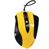 Input Devices - Mouse PRESTIGIO PMSG1 (,Cable, Laser 5040dpi,7 btn,USB), Carbon/Yellow