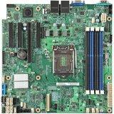 Intel Server MainBoard  DBS1200V3RPL (E3-1200v3, Socket-1150, iC226, u-ATX, 4xDDR3 UDIMM, IPMI2.0, 2xGbE, 6xSATA, 4xUSB, SW RAID RST and ESRT2, mez & RMM4 options), retail