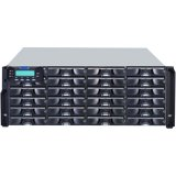 Infortrend EonStor DS 3000 4U/24bay, Single controller subsystem including 1x6Gb SAS EXP. Port, 1x host board slot(s), 1x2GB, 2x(PSU+FAN Module), 24xHDD trays and 1xRackmount kit