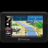 PRESTIGIO GPS Navigator GeoVision 4050 (4.3'', ARM9 500Mhz, 480x272, 4GB, 128MB, IGO software with maps of Europe)