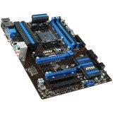 MSI Main Board Desktop AMD A88X (SFM2+,DDR3,SATA III,RAID,GLAN,USB2.0,USB3.0,VGA,HDMI, DVI) ATX Box