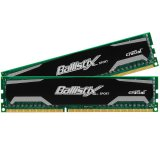 Crucial DRAM 16GB kit (8GBx2) DDR3 1600 MT/s (PC3-12800) CL9 @1.5V Ballistix Sport UDIMM 240pin, EAN: 649528757777