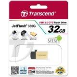 32GB JetFlash 380, Gold Plating
