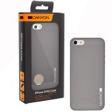 Canyon air PP case for iPhone5/5S; ultra slim 0.38mm; 3g; transparent grey