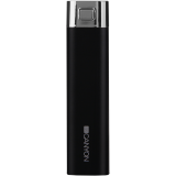 CANYON CNE-CPB26B Black color power battery charger 2600mAh, micro USB input5V/1A and single USB output 5V/1A(max.)