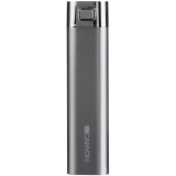 CANYON CNE-CPB26GR Grey color power battery charger 2600mAh, micro USB input5V/1A and single USB output 5V/1A(max.)