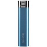 CANYON CNS-CPB26BL Blue color power battery charger 2600mAh, micro USB input5V/1A and single USB output 5V/1A(max.)