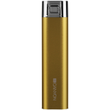 CANYON CNS-CPB26Y Yellow color power battery charger 2600mAh, micro USB input5V/1A and single USB output 5V/1A(max.)