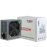 Power Supply INTER-TECH IT-SL500 AC 230V, 50/60Hz, DC 3.3/5/Âą12V, 500W, Retail, Passive PFC, 1x120