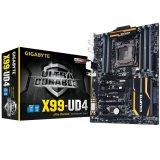 GIGABYTE Main Board Desktop X99 (LGA2011-3 ,DDR4,USB3.0/USB2.0,RAID,LAN,SATAIII/eSATA/M.2) ATX Retail
