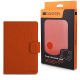 CANYON CNS-CUT7O Orange color universal case with stand suitable for most 7' tablets(Max. size up to 193*119*11mm)