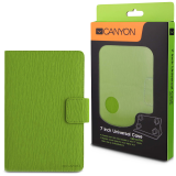 CANYON CNS-CUT7G Green color universal case with stand suitable for most 7' tablets(Max. size up to 193*119*11mm)