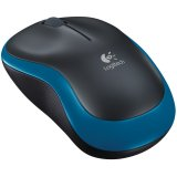 LOGITECH Wireless Mouse M185 - EER2 - BLUE