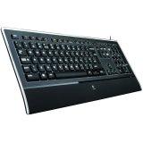 LOGITECH Illuminated Keyboard K740 - Croatian layout