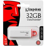 Kingston 32GB USB 3.0 DataTraveler I G4 - 4-colour, Co-Logo