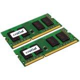 CRUCIAL 8GB Kit (4GBx2) DDR3 1600 MT/s (PC3-12800) CL11 SODIMM 204pin 1.35V / 1.5V for Mac