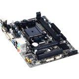 GIGABYTE Main Board Desktop AMD A68 (SFM2+,DDR3,DVI/VGA,USB3.0/USB2.0,SATA III,RAID,LAN) mATX Retail