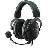 Kingston HyperX Gaming Headset, Cloud II Pro, gun metal, 53mm drivers, USB/3.5mm jack, noise-cancellation microphone, aluminium frame, Audio Control Box, 1m + 2m extension , EAN: 740617235678