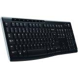 LOGITECH Wireless Keyboard K270 - EER - Croatian layout