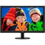 Monitor LED PHILIPS V-Line 273V5QHAB/00 (27', AMVA, 16.9, 1920x1080, 6ms, 10M:1, 300 cd/m2, VGA, DVI, HDMI, Speakers, VESA) Black