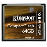 Kingston 64GB Ultimate CompactFlash 600x w/Recovery s/w, EAN: 740617240535