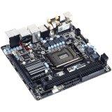 GIGABYTE Main Board Desktop H97 (S1150, DDR3,DVI,2xHDMI,SATA III,RAID,USB3.0,USB2.0,2xLAN,Wi-Fi, Bluetooth4.0) mITX, Retail