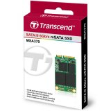 TRANSCEND  256GB, mSATA SSD, SATA3, MLC