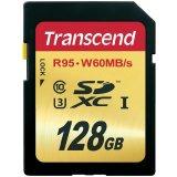 TRANSCEND  128GB SDXC UHS-I U3