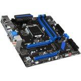 MSI Main Board Desktop H97 (S1150, DDR3, SATA III, Raid,USB2.0,USB3.0,GLAN,DP,DVI,HDMI,VGA,) mATX Retail