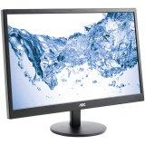 AOC Monitor LED M2470SWH (23.6'', 16:9, 1920x1080, MVA, 250 cd/m2, 50M:1, 5 ms, 178/178°, VGA, 2x HDMI, Speakers, Tilt: -5 to +25°) Black, 3y