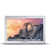 Apple MacBook Air 13-inch Model A1466: 1.6Ghz Dual-core Intel Core i5, Turbo Boost up to 2.7Ghz, Intel HD Graphics 6000, 4Gb memory, 256GB flash storage SSD, Backlit Keyboard (Int'l Eng) / User's Guide (Int'l Eng)
