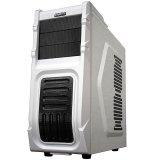 GIGABYTE Case Midi ATX Luxo M10, Plastic+Steel, Fan, USB 3.0, HD Audio, w/o PSU, White