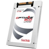 """SanDisk Optimus 2 Eco Enterprise SAS 400GB SSD, 2.5"""", 6Gb/s SAS, Read/Write (MB/s) up to 530/530, Random Read/Write IOPS: up to 90K/35K, Unrecovered Bit Error Rate (UBER) <1 sector in 1017 bits read, Endurance DWPD: 3 DWPD"""