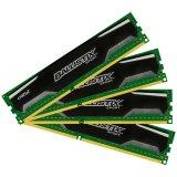 Crucial DRAM 16GB kit (4GBx4) DDR3 1600 MT/s (PC3-12800) CL9 @1.5V Ballistix Sport UDIMM 240pin, EAN: 649528759962