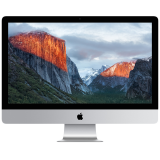 Apple 27-inch iMac with Retina 5K display, 3.2GHz Quad-core Intel Core i5, Turbo Boost up to 3.6GHz,8GB 1867MHz DDR3 SDRAM - 2x4GB, 1TB Serial ATA Drive @ 7200 rpm, AMD Radeon R9 M380 2GB,  OS X El Capitan, Magic Mouse2 (CRO/BOS)