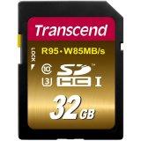 TRANSCEND 32GB SDHC UHS-I U3X, 95/85 MB/s