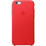 iPhone 6s Leather Case (PRODUCT)RED