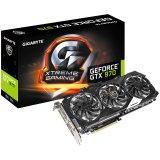 GIGABYTE Video Card GeForce GTX 970 XTREME GAMING GDDR5 4GB/256bit, 1190MHz/7100MHz, PCI-E 3.0 x16, HDMI, DVI-I, 3x DP, WINDFORCE 3X Cooler(Double Slot), Retail