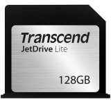 TRANSCEND Flash Card, JetDrive Lite, 128GB, for MacBook Air 13', Late 2010,  Mid 2011,  Mid 2012, Mid 2013, Early 2014, MLC flash, R/W: 95/60 MB/s