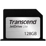 TRANSCEND Flash Card, JetDrive Lite, 128GB, for MacBook Pro (Retina) 15', Late 2013, Mid 2014, MLC flash, R/W: 95/60 MB/s