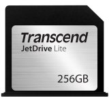 TRANSCEND Flash Card, JetDrive Lite, 256GB, for MacBook Air 13', Late 2010,  Mid 2011,  Mid 2012, Mid 2013, Early 2014, MLC flash, R/W: 95/60 MB/s