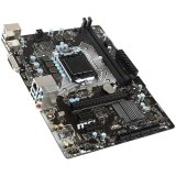 MSI Main Board Desktop H110 (S1151, DDR4, USB3.1,USB2.0, SATA III, DVI, Audio, LAN) mATX Retail