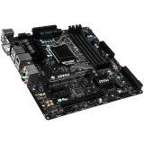 MSI Main Board Desktop B150 (S1151,DualDDR4,2xPCI-Ex16,PCI-Ex1 USB3.1,USB2.0,SATA III,M.2,VGA,DVI,HDMI,GLAN) mATX Retail