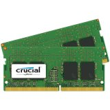 Crucial DRAM 32GB Kit (16GBx2) DDR4 2133 MT/s (PC4-17000) CL15 DR x8 Unbuffered SODIMM 260pin, EAN: 649528773364