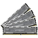 Crucial DRAM 64GB Kit (16GBx4) DDR4 2400 MT/s (PC4-19200) CL16 DR x8 Unbuffered DIMM 288pin Ballistix Sport LT DDR4 1.2V, Digital camo heat spreader and black PCB, EAN: 649528773869