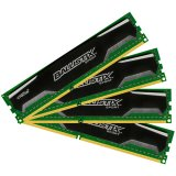 Crucial DRAM 32GB kit (8GBx4) DDR3 1600 MT/s (PC3-12800) CL9 @1.5V Ballistix Sport UDIMM 240pin, EAN: 649528759931