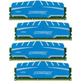 Crucial DRAM 32GB Kit (8GBx4) DDR3 1866 MT/s (PC3-14900) CL10 @1.5V Ballistix Sport XT UDIMM 240pin, EAN: 649528765277