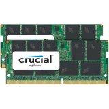 Crucial DRAM 32GB Kit (16GBx2) DDR4  2400 MT/s (PC4-19200) CL17 DR x8 ECC SODIMM 260pin, EAN: 649528772404