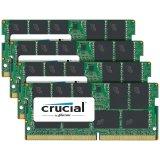 Crucial DRAM 64GB Kit (16GBx4) DDR4  2400 MT/s (PC4-19200) CL17 DR x8 ECC SODIMM 260pin, EAN: 649528772411