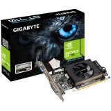 GIGABYTE Video Card GeForce GT 710 DDR3 1GB/64bit, 954MHz/1800MHz, PCI-E 2.0 x16, HDMI, DVI, VGA, Cooler, Low-profile, Retail